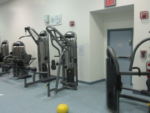 Another view of Matrix fitness equipment at Broadway Education in NYC